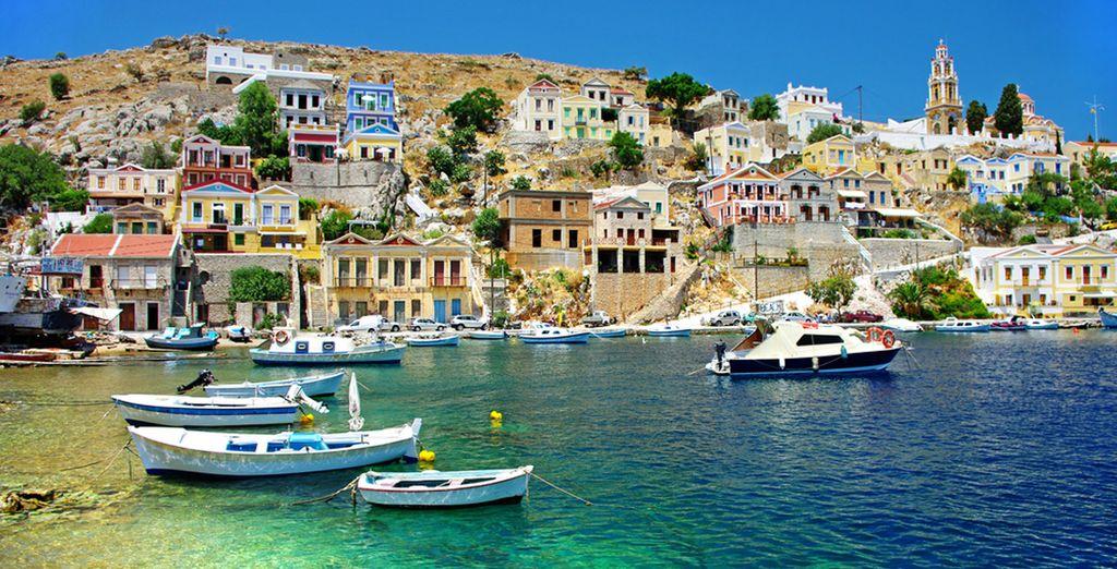 Le soleil de la Grèce n'attend que vous...