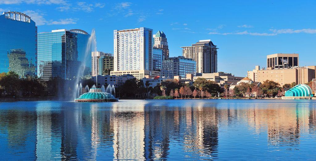 Avant d'arriver à Orlando, royaume des plus grands parcs d'attractions