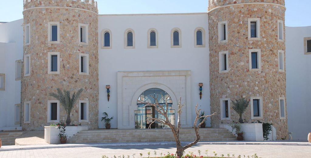 Mêlant architecture traditionnelle - Hôtel Green Palm Golf & Spa 4* Djerba
