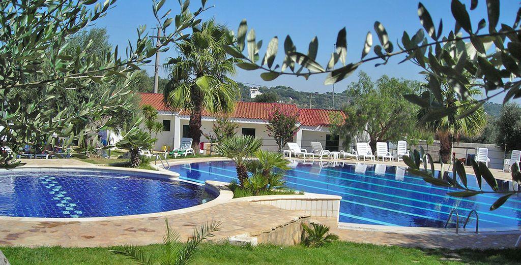 Alors posez vos valises à l'hôtel Citta Bianca Country Resort 4*