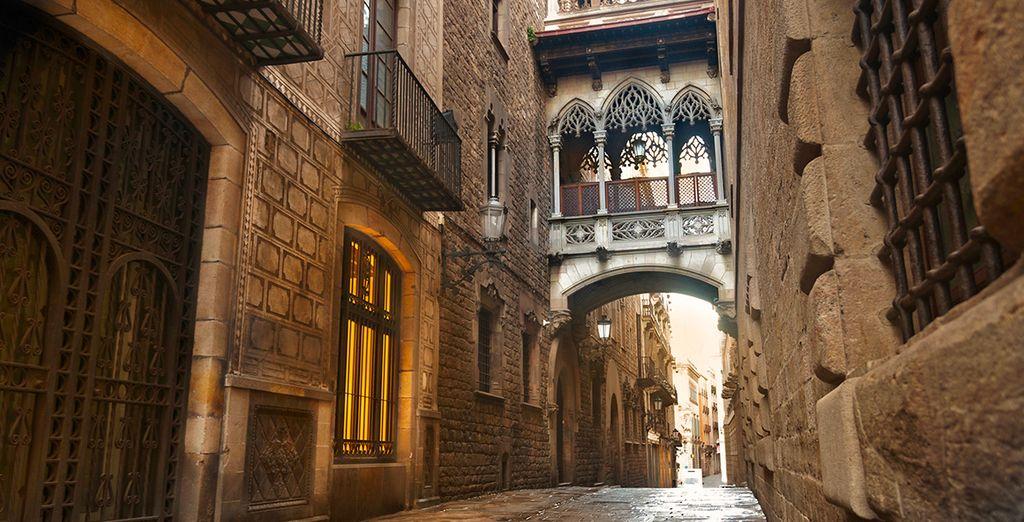 En passant par les ruelles du Barrio Gotico...