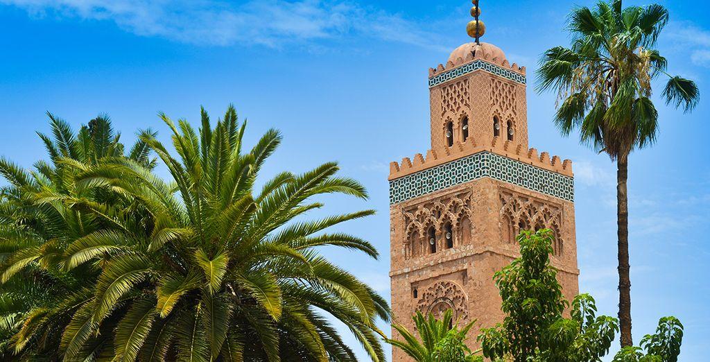 Au départ de Marrakech, la ville rouge