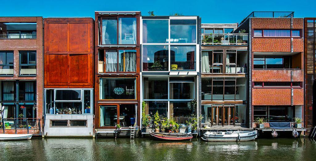 Pour découvrir une architecture étonnante