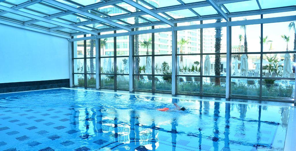 ou de la piscine intérieure