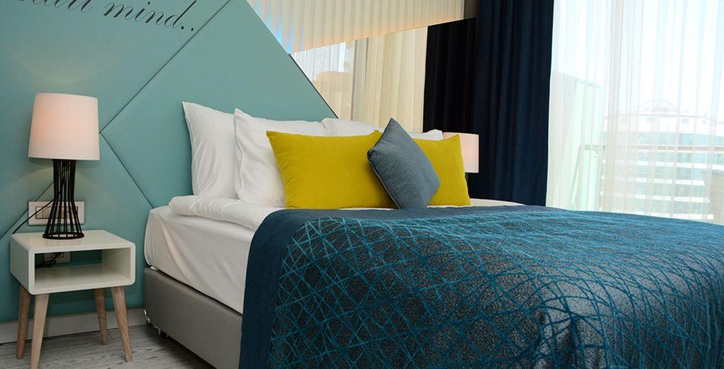 Installez-vous dans une confortable et spacieuse chambre Standard