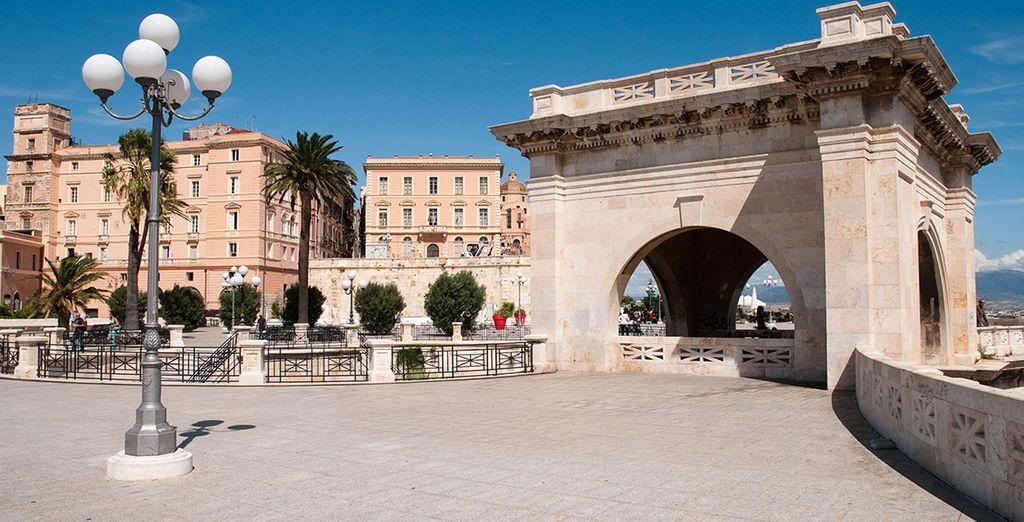 Avant de partir explorer la belle Cagliari