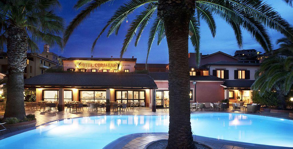 Craquez pour le charme de l'hôtel Corallaro