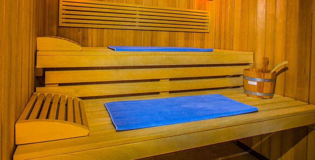 Cette parenthèse de douceur continue au sauna