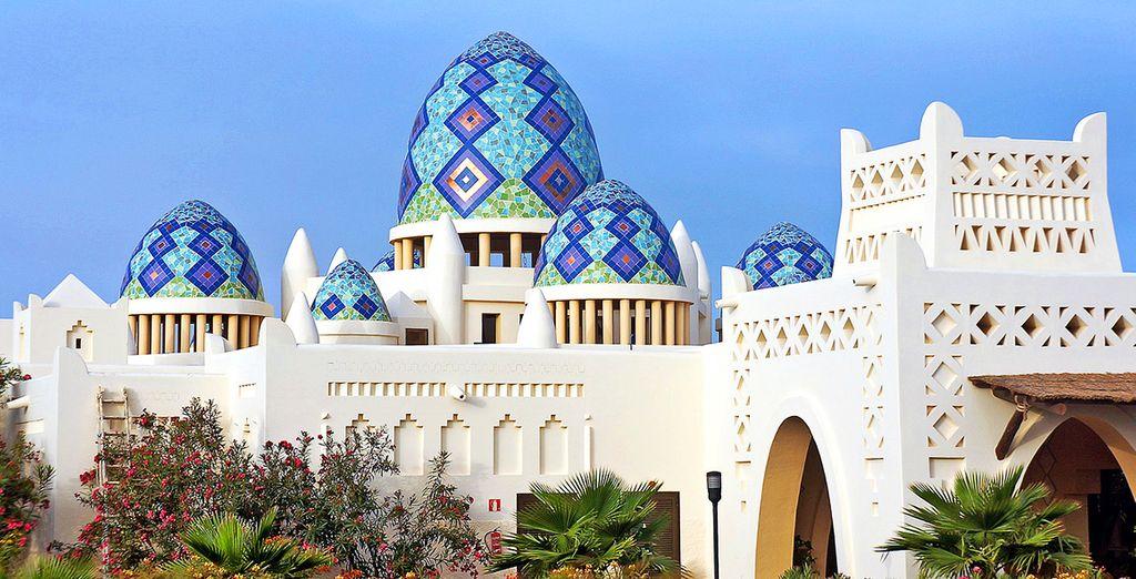 Laissez-vous charmer par son architecture originale... - Echappée Capverdienne au Club Héliades Riu Karamboa 5* Boa Vista