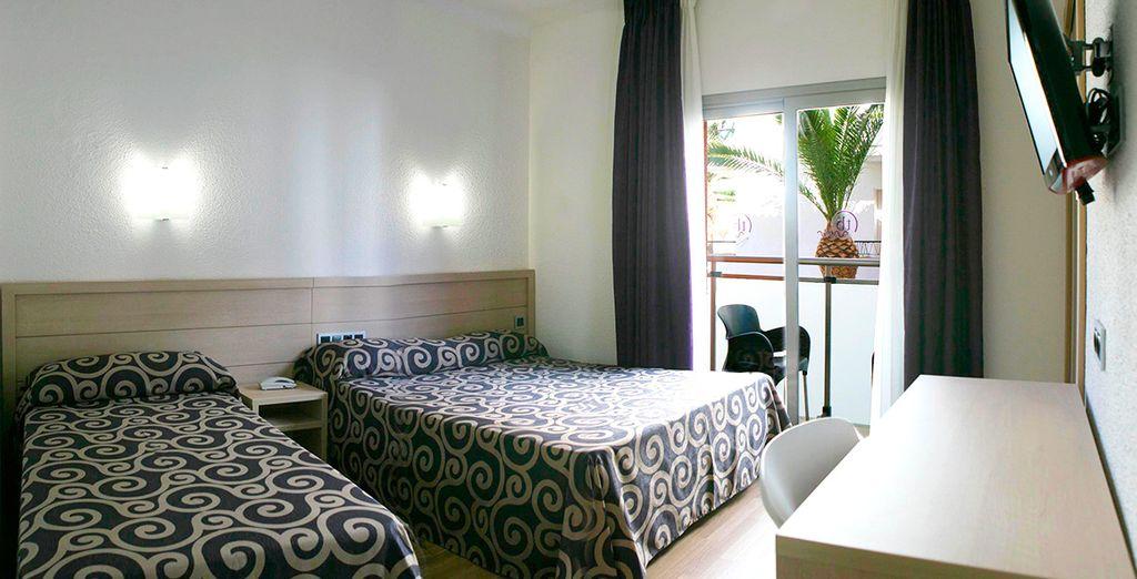 Prenez place dans votre chambre Standard avec balcon