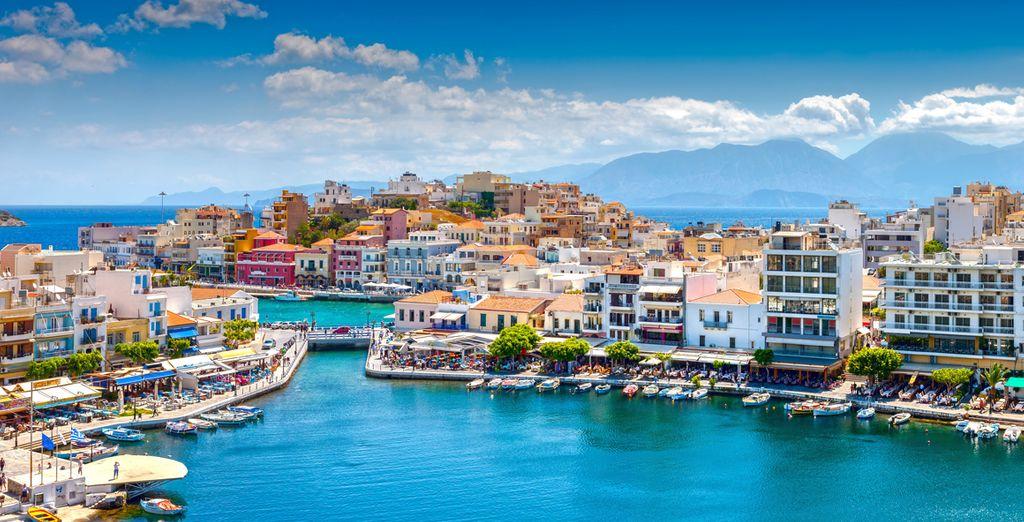 Photographie d'Heraklion en Grèce, entre