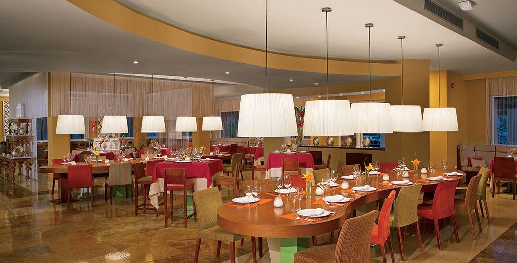 Testez les nombreux restaurants de votre hôtel