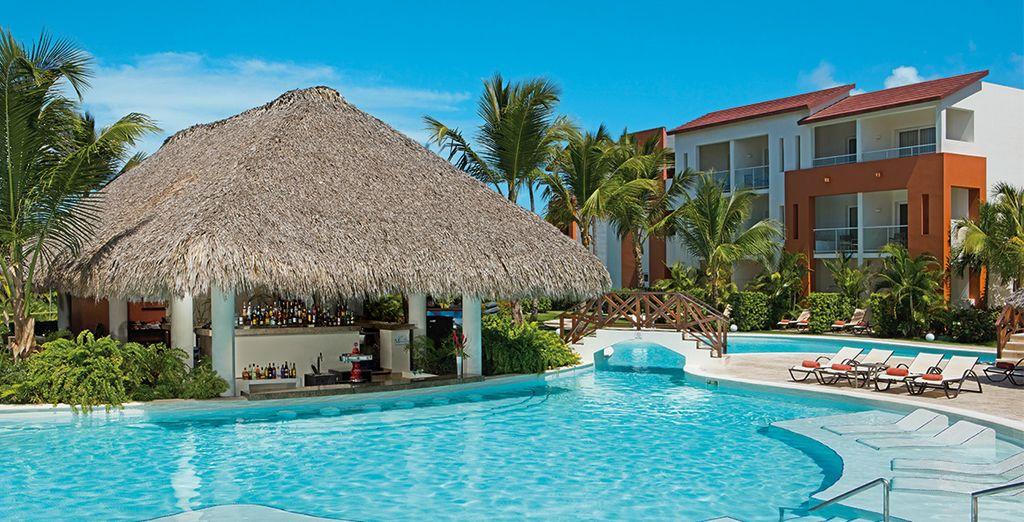 Une toute nouvelle zone du complexe Now Larimar Punta Cana - Hôtel Now Garden Punta Cana 5* Punta Cana