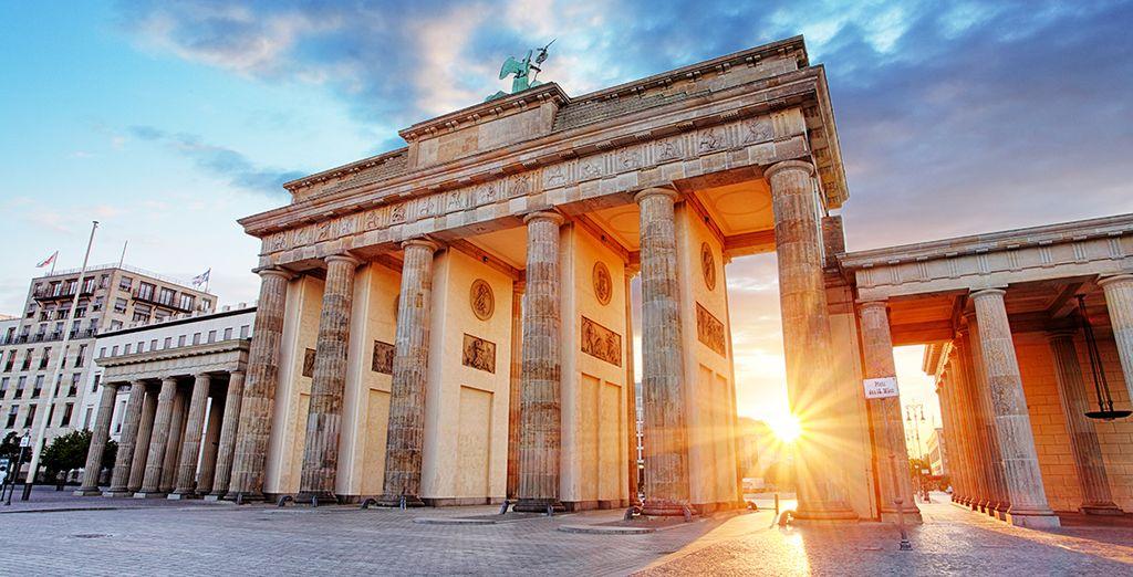 La Porte de Brandebourd à Berlin, lieu incontournable à visiter