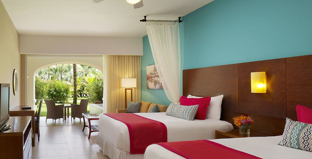 Ou en Preferred Club Junior Suite Tropical View