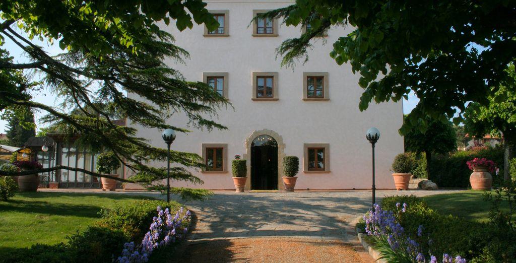 Dans une bulle de charme hors du temps - Hôtel Villa Bianca 4* Gambassi Terme
