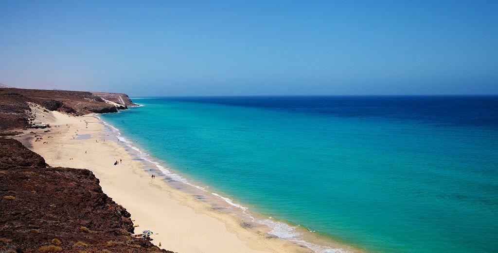 Explorez les plages de Fuerteventura comme la Playa Barca