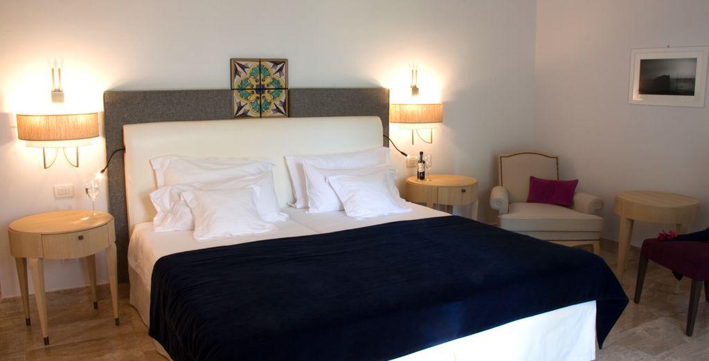 Vous séjournerez dans une confortable et spacieuse chambre Classic