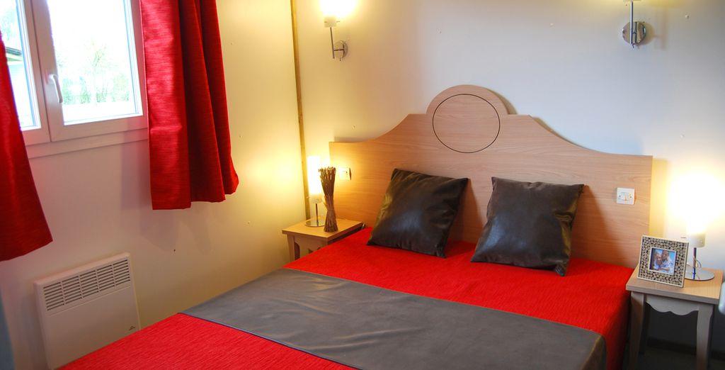 et une chambre confortable !