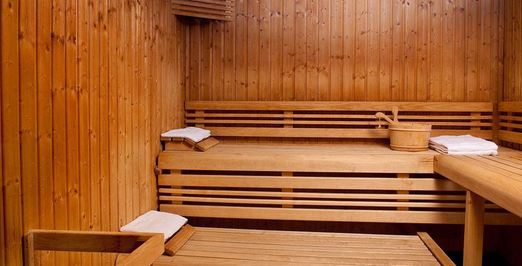 Au sauna...