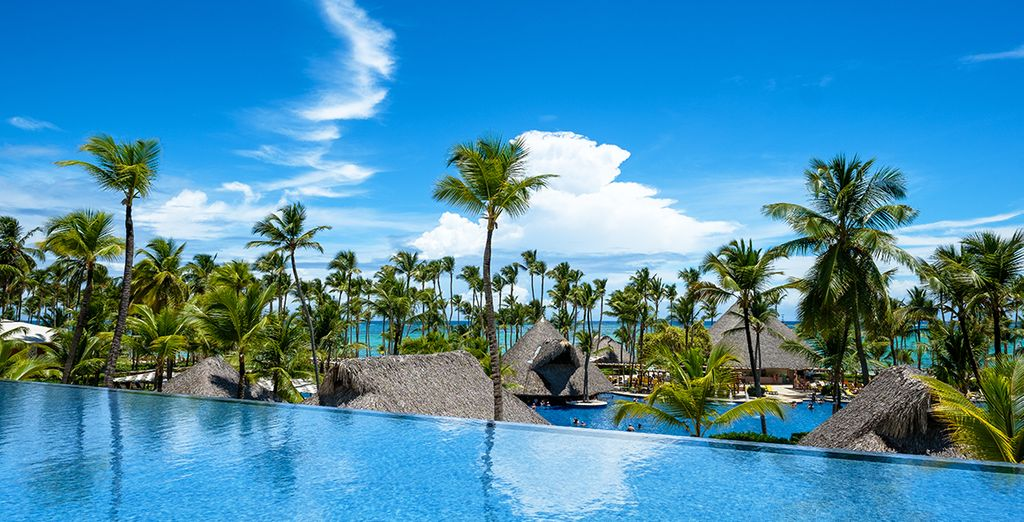 Ou plonger dans la piscine... - Hôtel Barcelo Bavaro Palace 5* Punta Cana