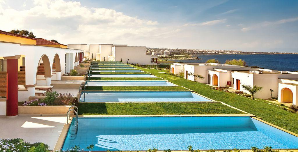 Offrez-vous un 5* sur l'île de Rhodes  - Hôtel Kresten Royal Villas & Spa 5* Rhodes