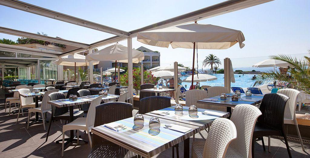 Carte Restaurant Le Panorama La Teste