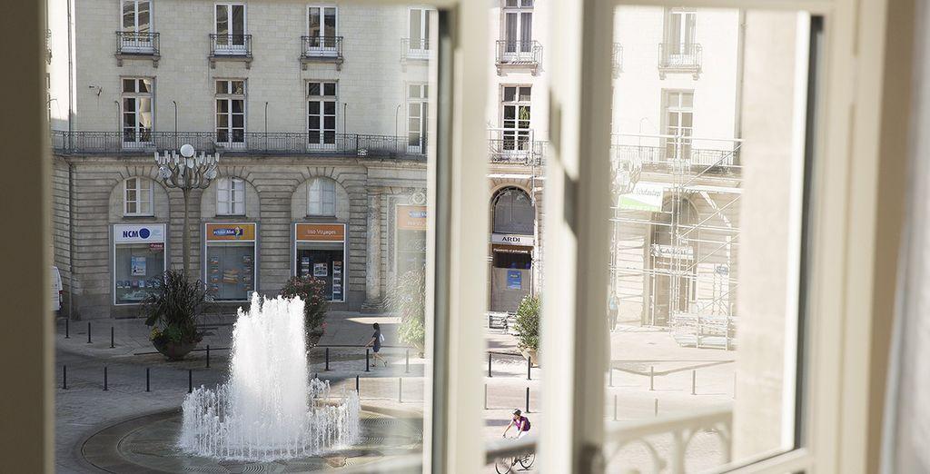 dotées de jolies vues sur Nantes