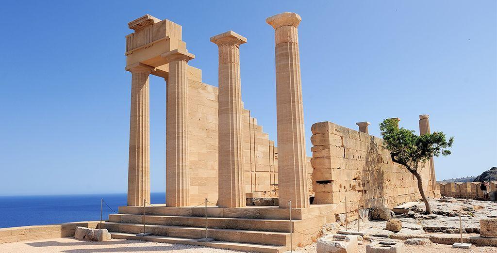 Des vestiges de l'antiquité vous éblouiront