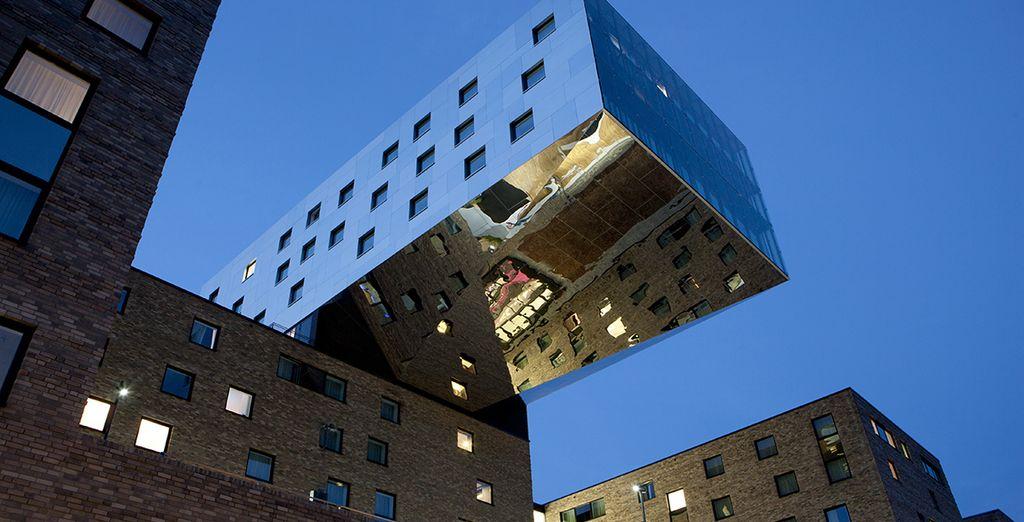 Au coeur d'un hôtel design à Berlin