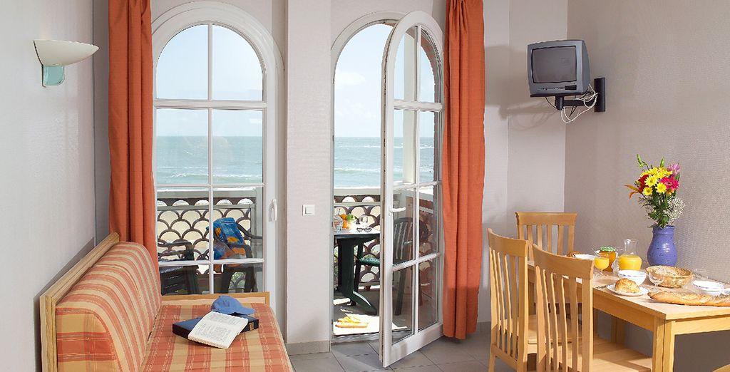 Découvrez un appartement au cadre chaleureux