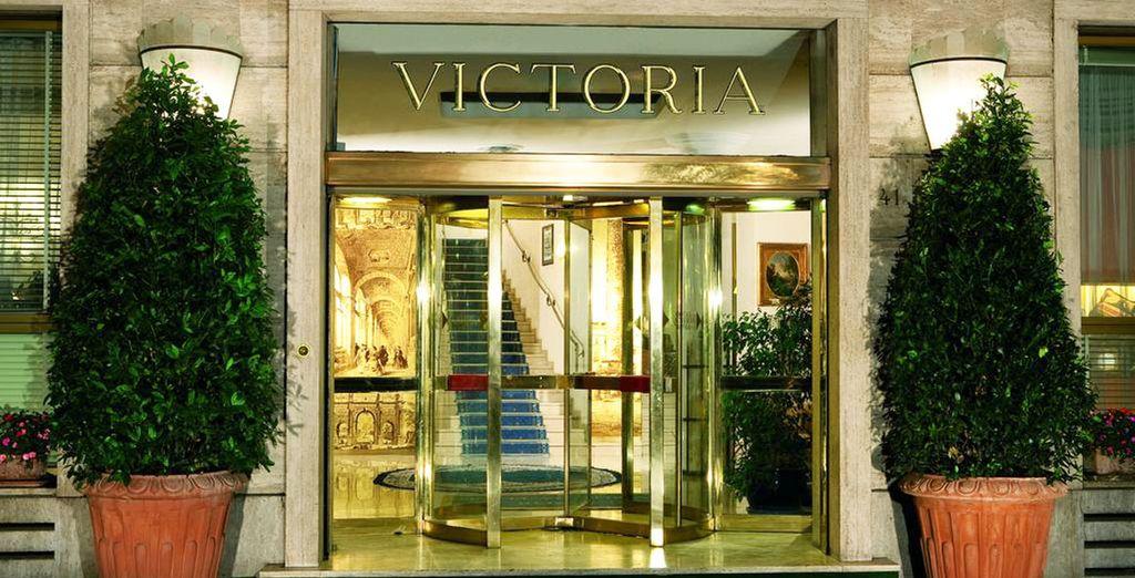 L'Hôtel Victoria 4* vous ouvre ses portes...
