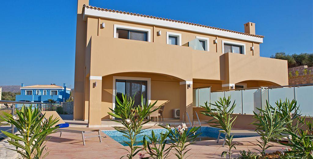 Offrez-vous le confort d'une villa avec piscine privée