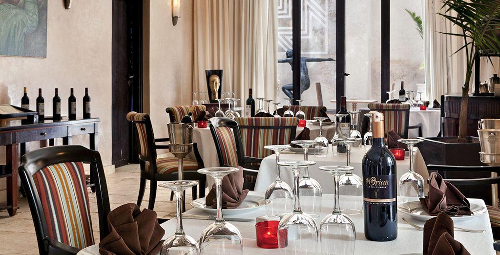 Que vous serez ravis de savourer dans un restaurant de charme