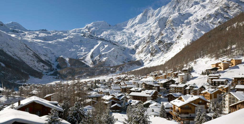 Passez des vacances exceptionnelles au ski dans la Vallée du Saas