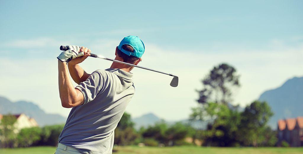 Ou améliorez votre swing au golf