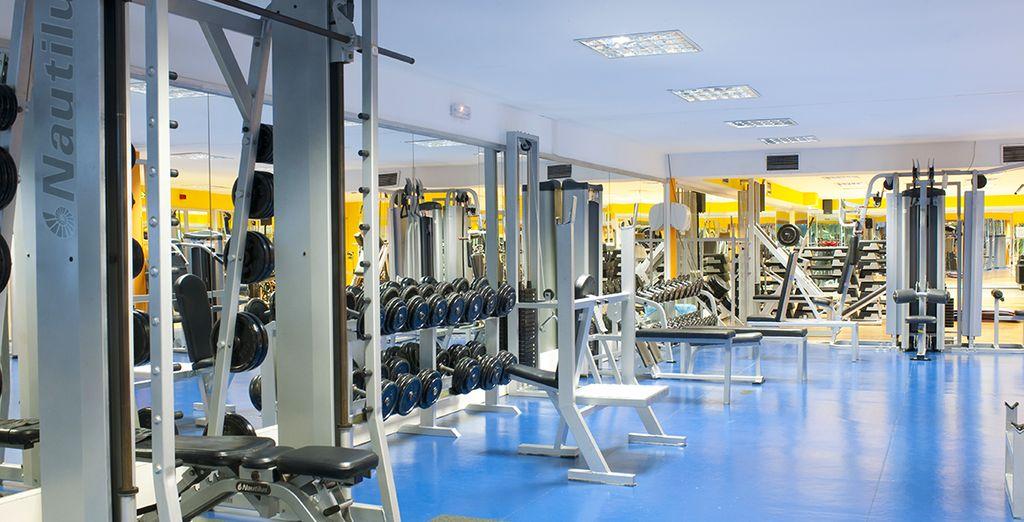 Maintenez votre forme à la salle de fitness