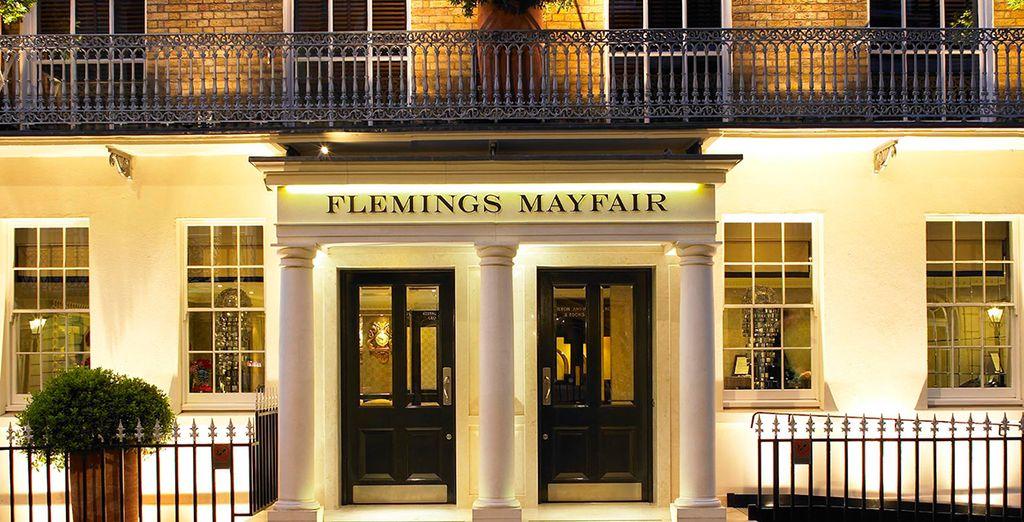 Le Flemings Myfair 4* vous ouvre ses portes...