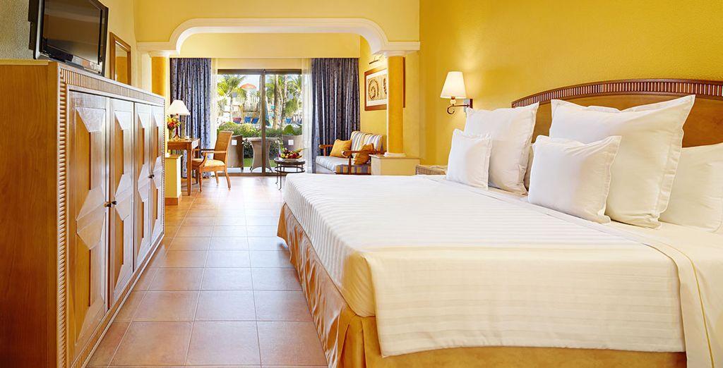 Ou succombez à la Junior Suite Ocean Front Premium Level Colonel Tropical et à ses services exclusifs
