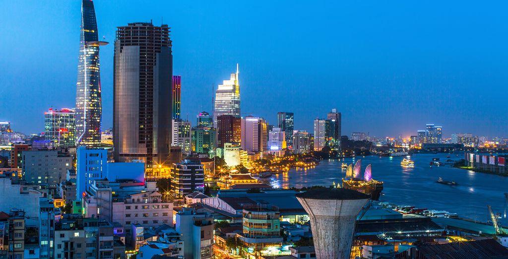 Terminez votre circuit de 10 nuits à Saigon