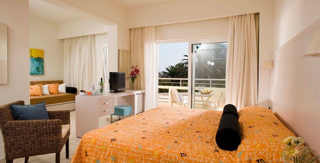 Et la chambre VIP pour encore plus de confort