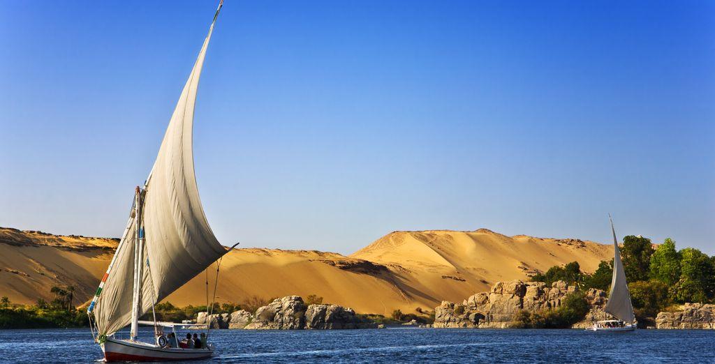 Grâce à la croisière sur le Nil