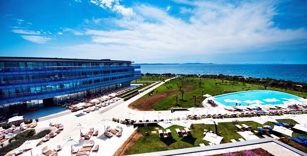 Falkensteiner hotel spa iadera 5 voyage priv jusqu 39 for Hotel design zadar