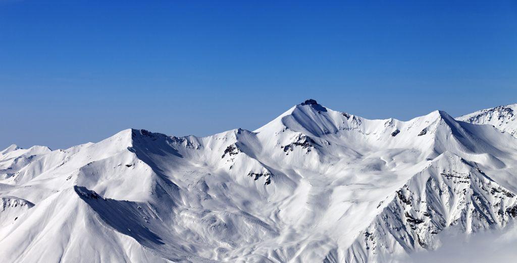 Un extraordinaire domaine skiable vous attend