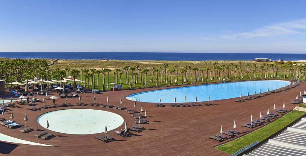 A l'hôtel Vidamar Algarve 5*,