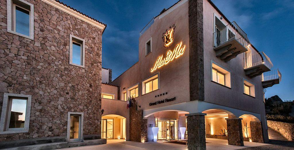Appréciez le calme de ce magnifique hôtel 5*