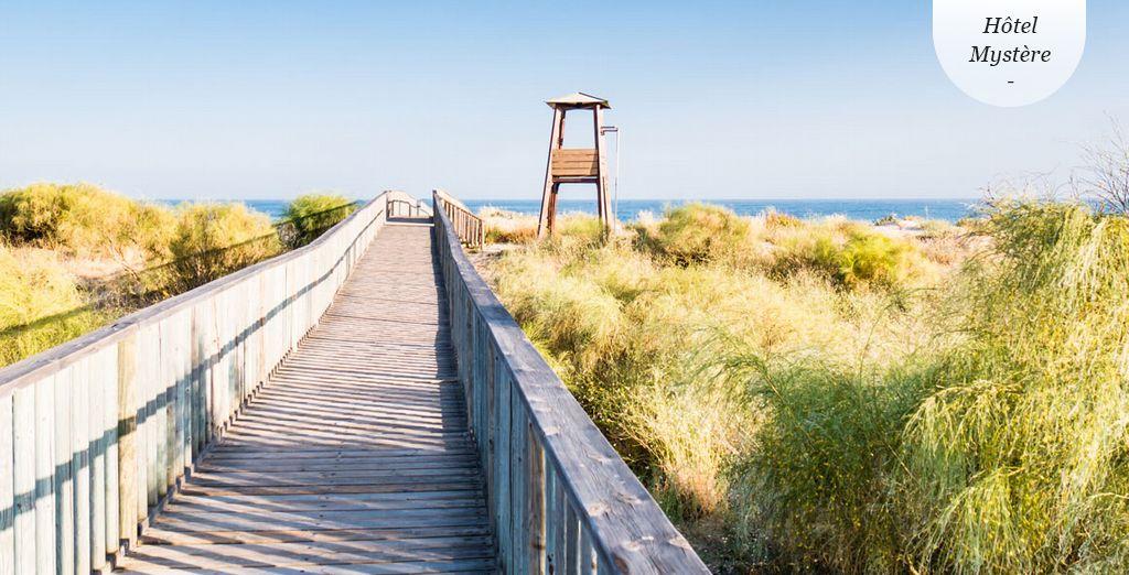 Venez découvrir l'Andalousie face à l'océan.
