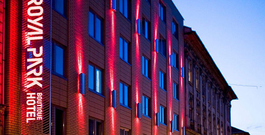 Installez-vous au Royal Park Boutique Hotel