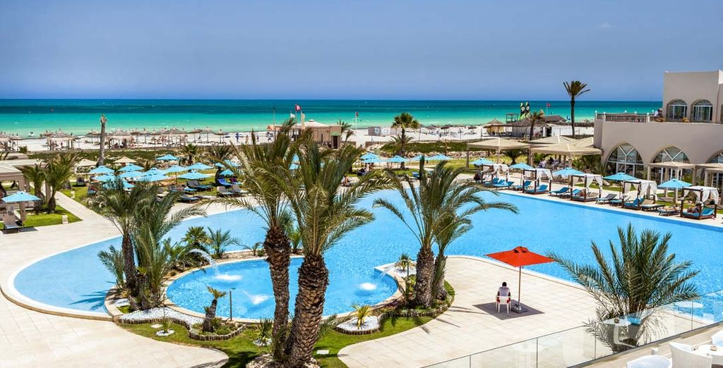 Bienvenue au Sensimar Palm Beach Palace 5*