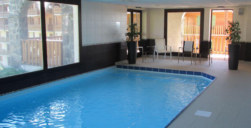 Profitez de la piscine intérieure
